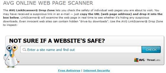 AVG Online Web Page Scanner kako očistiti web stranicu od virusa ? Kako očistiti web stranicu od virusa ? avg